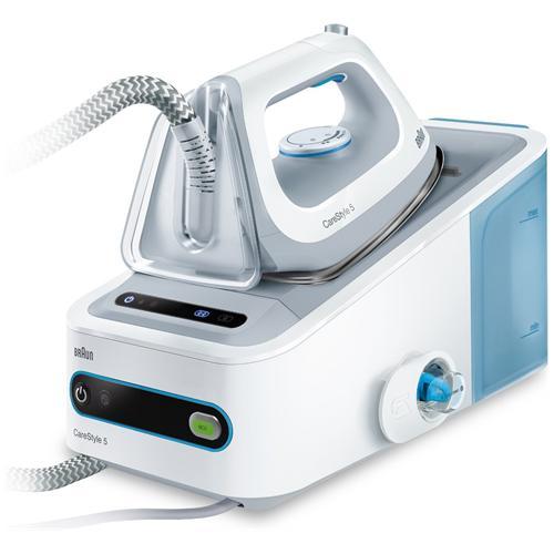 BRAUN Carestyle 5 Ferro da Stiro con Caldaia Continua Potenza 2400 Watt Colore Bianco