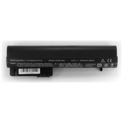 LI-TECH Batteria Notebook compatibile per HP COMPAQ HSTNN-IBOR 6 celle nero 4.4Ah