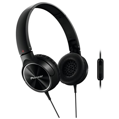 PIONEER Cuffie On-Ear ad Archetto SE-MJ522T con ControlTalk Colore Nero