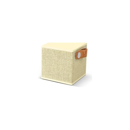 FRESH N REBEL Rockbox Cube Fabriq Edition Speaker Bluetooth - Giallo