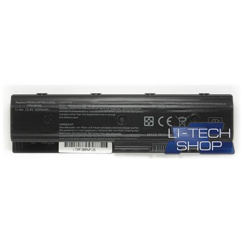 LI-TECH Batteria Notebook compatibile 5200mAh per HP PAVILION M61075EA 6 celle nero computer pila
