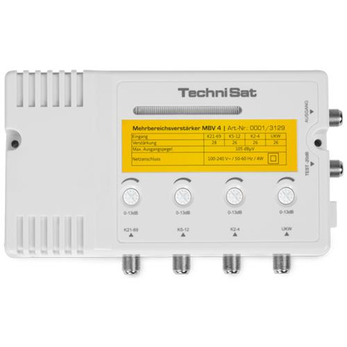 TECHNISAT MBV 4, 230V, 50 Hz, 161 x 44 x 98 mm, 500g, Beige