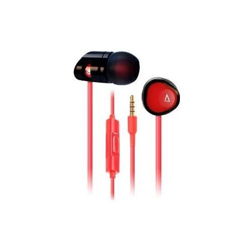 """CREATIVE LABS MA200, Stereofonico, Interno orecchio, Nero, Rosso, Cablato, Multi-key, 3.5 mm (1/8"""")"""