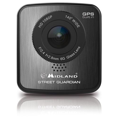 MIDLAND Dash Cam Street Guardian Sensore CMOS Full HD Display 2'' GPS