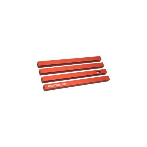 Watercool Heatkiller Tube Kit di Aspirazione 150 mm Colore Rosso