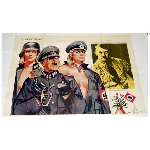 Vendilosubito Manifesto Originale Del Film Von Buttiglione Sturmtruppenfuhrer 2 Fogli