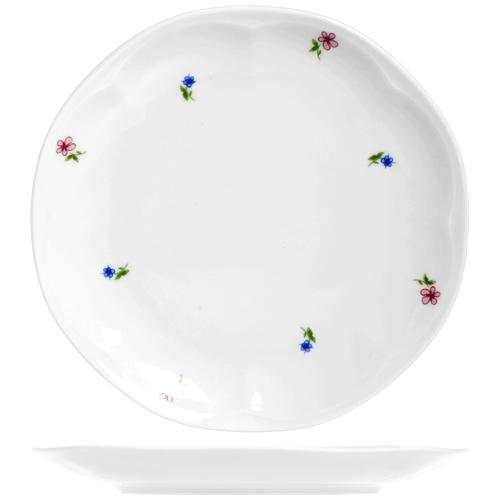 Db Piatto Porcellana Jastra 1170 Frutta Cm19 Stoviglie