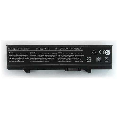 LI-TECH Batteria Notebook compatibile per DELL KM668 10.8V 11.1V 4400mAh