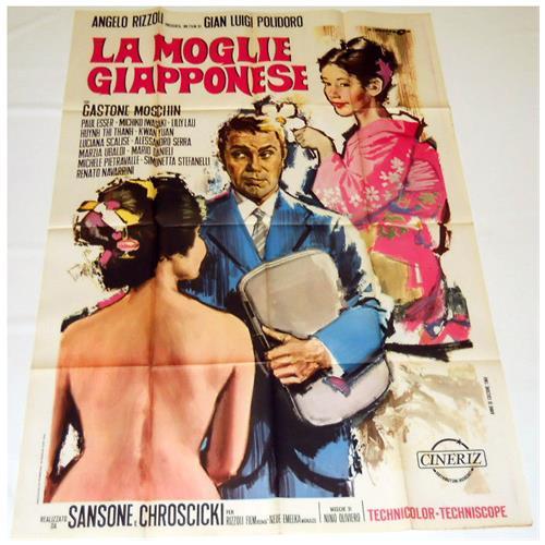 Vendilosubito Manifesto Originale Del Film La Moglie Giapponese