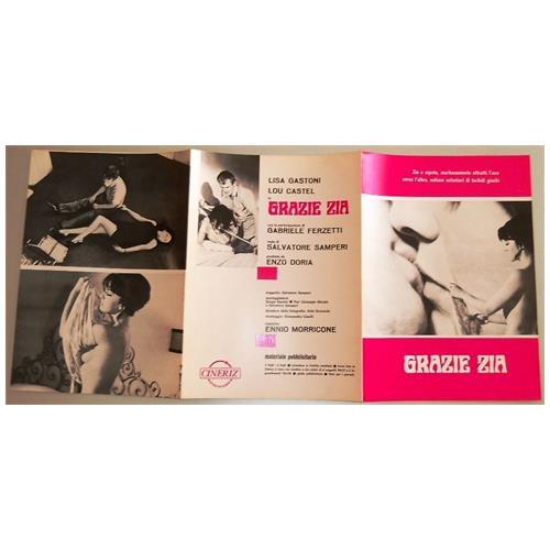 Vendilosubito Brochure Originale Del Film Grazie Zia 1968