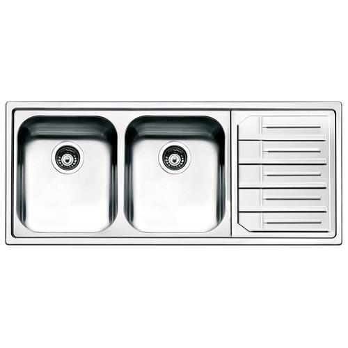 SMEG - Lavello LPE116S 2 Vasche Dimensioni 34 x 40 cm Inox Serie ...