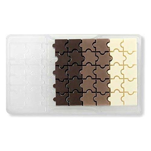 Decora Stampo cioccolatino puzzle 32 cavita'