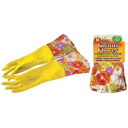 LA BRIANTINA Guanti Gomma Flower Grande