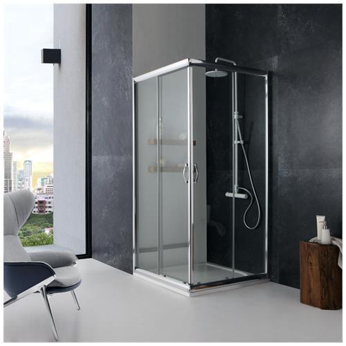 kiamami valentina box doccia modello giada 70x70 cm cristallo trasparente eprice. Black Bedroom Furniture Sets. Home Design Ideas