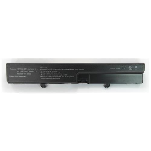LI-TECH Batteria Notebook compatibile per HP COMPAQ HSTNN-I64C-A 6 celle 4400mAh nero pila
