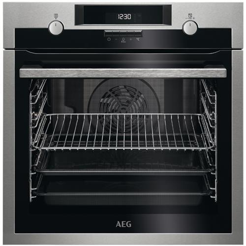 AEG Forno Elettrico da Incasso BPE531221M Capacità 72 L Ventilato Colore Inox Antimpronta