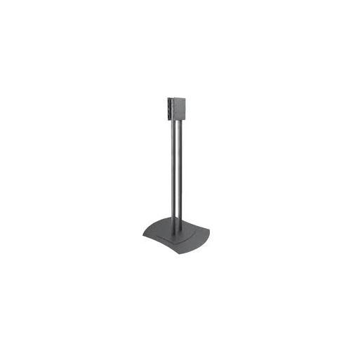 """Peerless FPZ-600 60"""" Portatile Nero base da pavimento per tv a schermo piatto"""