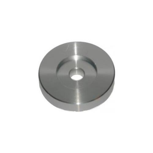 Omnitronic Adattatore Giradischi Universale Per 45 Giri In Alluminio