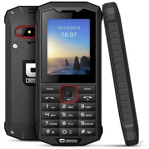 CROSSCALL Spider X4 Nero Dual Sim Impermeabile Display 2.4' +Slot MicroSD 3G Fotocamera 2Mpx e RadioFM