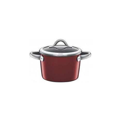 SILIT Pentola c / coperchio vitaliano 18cm 1,8lt. rosso silargan