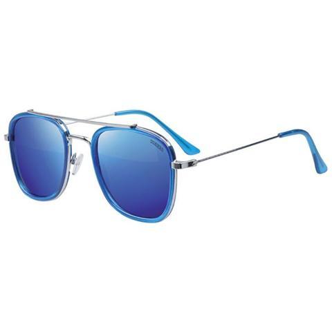 super popolare d7be1 3df49 El Charro Occhiali Da Sole El Charro Uomo Donna Unisex Blu Lenti Piatte  Kappa 109a