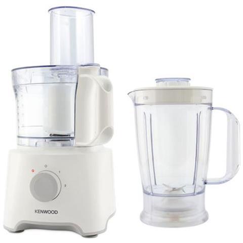 KENWOOD Robot da Cucina FDP301WH Capacità 2.1 L Potenza 800 W Colore Bianco