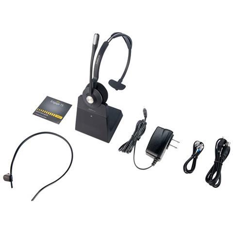 Tutte le immagini. JABRA Engage 75 Cuffie con Microfono Wireless Mono Colore  Nero b1a09360cdf7