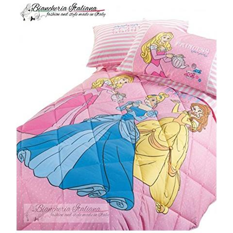 Trapunta Singola Caleffi Disney.Caleffi Disney Trapunta Princess Royal Le Tre Principesse Una Piazza 1 Posto Colore Rosa Eprice
