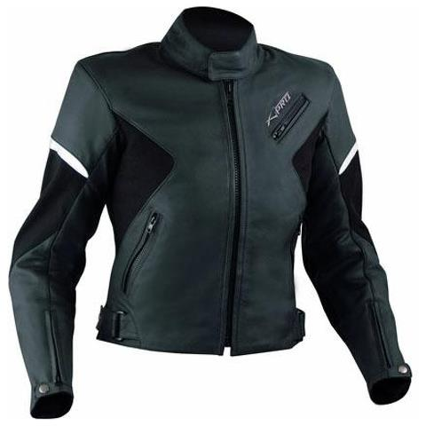 A PRO Giacca Donna Pelle Moto Lady Custom Naked Protezioni Omologate Ce Nero Xl