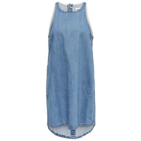 b46ad63c9b63 Only - Carlir Sl Dnm Dress Abito Donna Tg. Francese 36 - ePRICE
