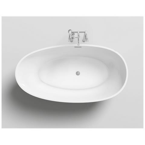Bagno Italia Vasca Da Bagno 180x90x58 Freestanding Centro Stanza Stile Ovale Design Moderno Eprice