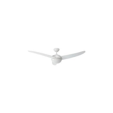 PERENZ   Ventilatore Da Soffitto 130cm 3Pale Con Luce   Bianco   EPRICE