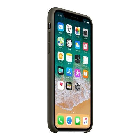 custodia iphone verde olivo
