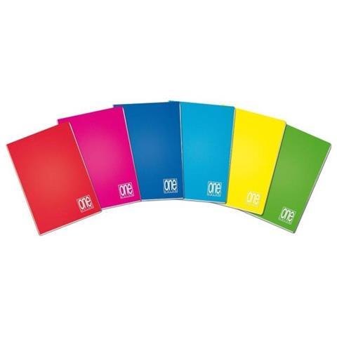 Maxiquaderno A4 20fg+1 80gr 2colonne one color Blasetti
