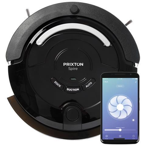 PRIXTON Spire 916 Robot Aspirapolvere Wifi Colore Nero