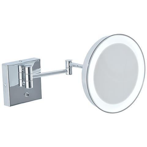 Specchio Da Bagno Con Luci Led.Bottiglioni Specchio Ingranditore Da Bagno Con Luce Led Batteria