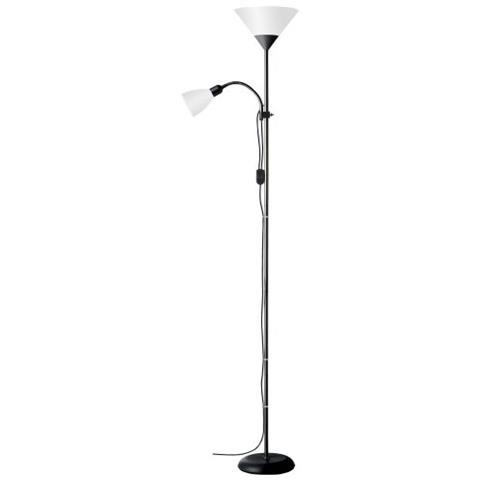 BRILLIANT Lampada Piantana Con Luce Da Lettura 180x41 Cm
