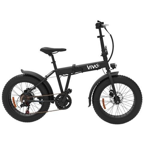 Vivo Bike Bicicletta Elettrica Fat Vivo Vfa20f Pieghevole Ruote 20