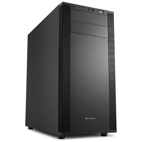 Case M25-V Middle Tower ATX / micro-ATX / mini-ITX Colore Nero