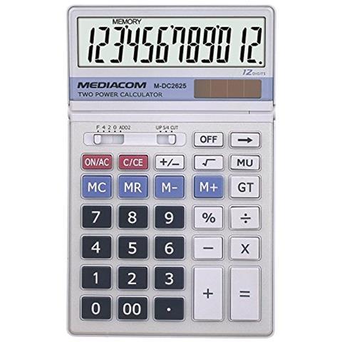 MEDIACOM CALCOLATRICE DC2625 8028153063279 M-DC2625 DAT_M-DC2625
