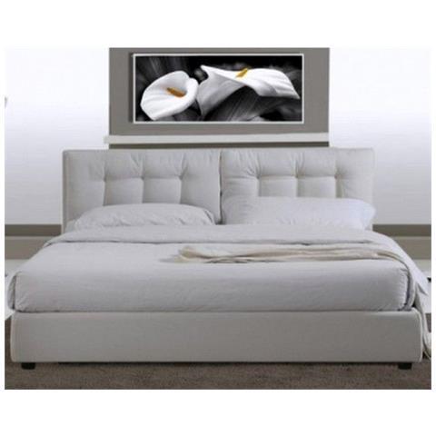 Letto Matrimoniale Moderno Bianco.Bagno Italia Arredo Letto Matrimoniale Modello Paris 220x174 In