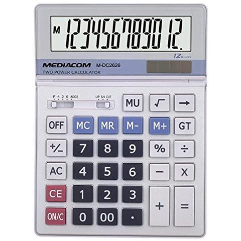 MEDIACOM CALCOLATRICE DC2626 8028153063286 M-DC2626 DAT_M-DC2626