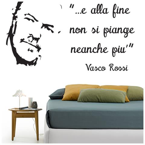 Adesivi Murali Vasco Rossi.Stampepersonalizzate Com Adesivi Murali Vasco Rossi Il Mondo Che