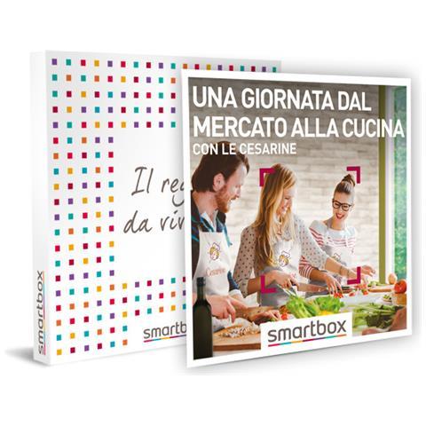 Smartbox Cofanetto Regalo Coppia Una Giornata Dal Mercato Alla Cucina Con Le Cesarine Idee Regalo Originale Corso Di Cucina Con Visita Al Mercato E Un Pranzo O Una