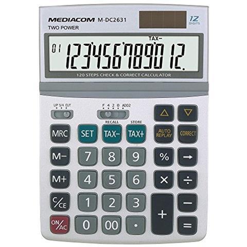 MEDIACOM CALCOLATRICE DC2631 8028153063293 M-DC2631 DAT_M-DC2631