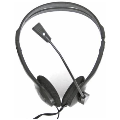OMEGA - Cuffia Stereo A Fascia Per Pc Con Microfono Regolabile ... b9ec207112f7