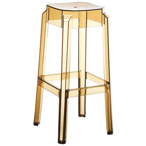 Sgabelli In Plastica Trasparente.Mendler Sedia Sgabello Cp470 Design Moderno 36x36x75cm