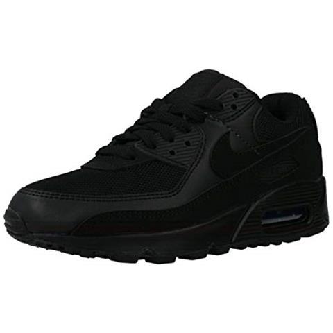 ONITSUKA TIGER Nike Air Max 90 Women's Shoe, Scarpe Da Corsa Donna, Nero / nero-nero-bianco, 40 Eu