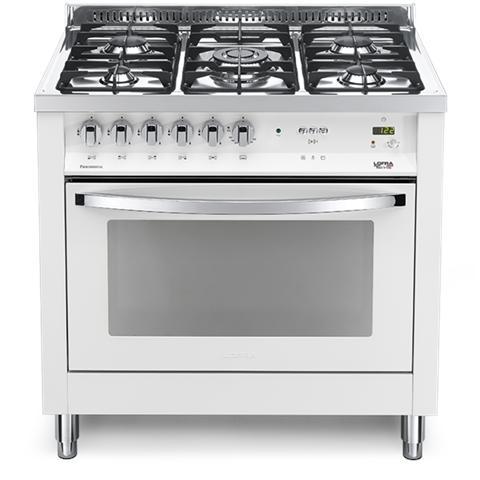 Lofra - Cucina Elettrica PBPG96MFT / C Fuochi a Gas Forno Elettrico ...