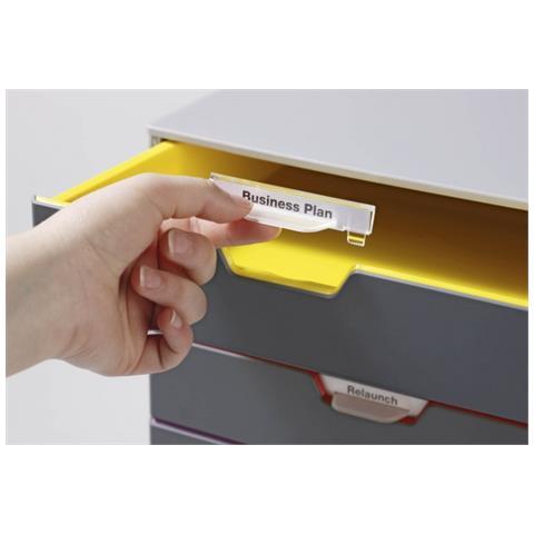 Cassettiera Ufficio Con Serratura.Durable Pz 1 Cassettiera Da Ufficio Varicolor Con Serratura 7606